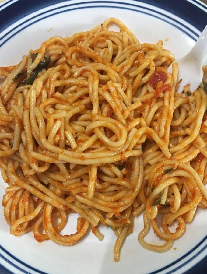 how to make instant pot spaghetti recipe