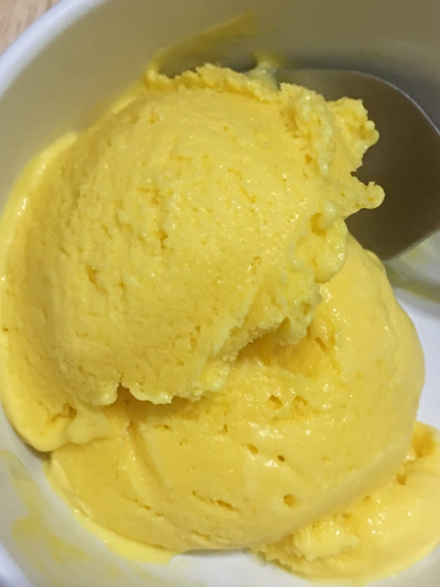 Homemade Mango Ice Cream Recipe Without Ice Cream Maker