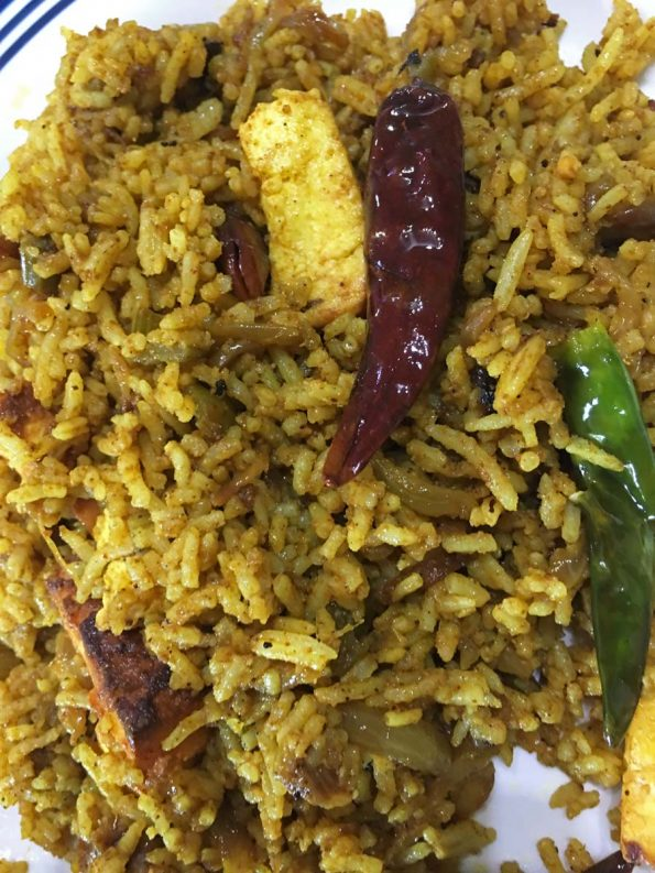how to prepare paneer masala rice