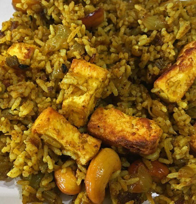 Paneer Masala Rice Recipe – Spicy Paneer Masala Rice Recipe