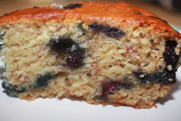eggless blueberry banana cake recipe from scratch