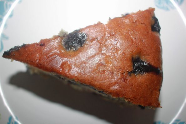 fresh blueberry banana cake recipe
