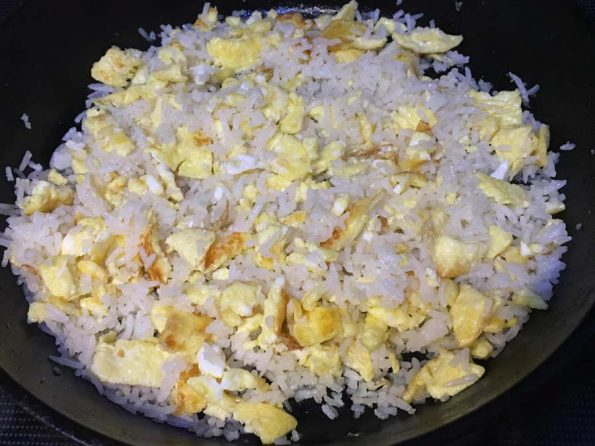 how to make egg fried rice without soy sauce