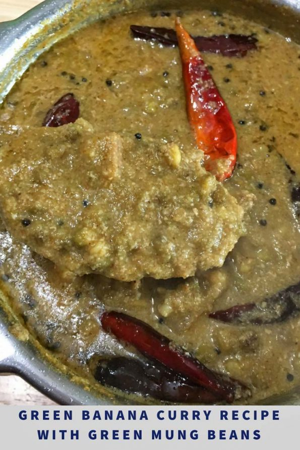 raw banana curry recipe