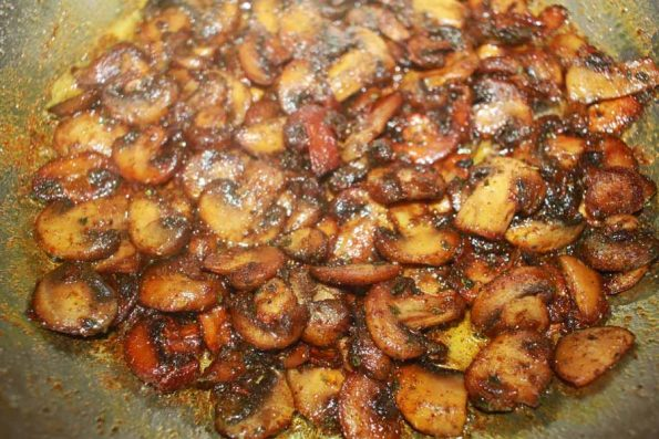 simple garlic butter mushrooms recipe