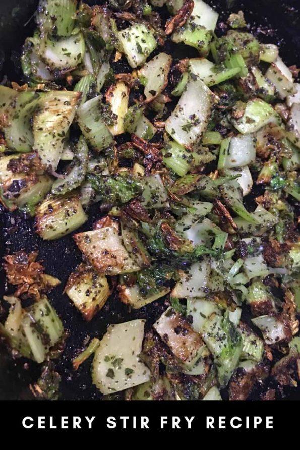 celery stir fry recipe