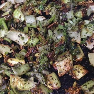 celery stir fry recipe with herbs