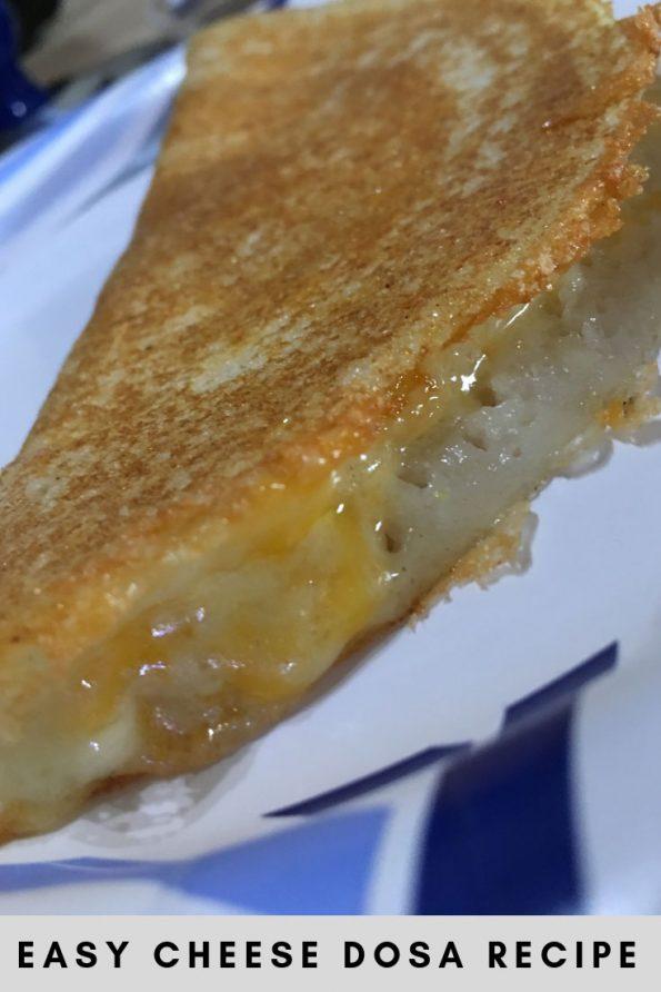 cheese dosa recipe