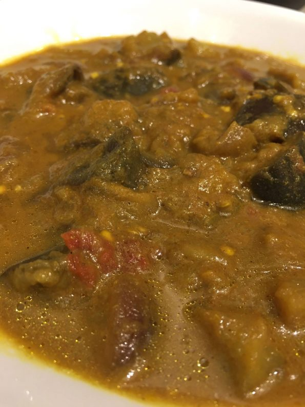 eggplant masala instant pot