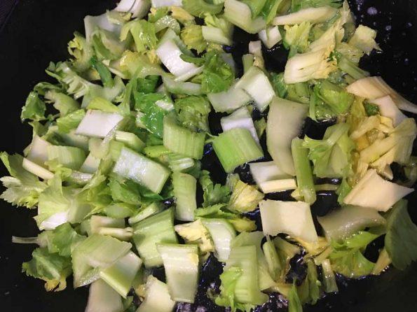 how to make celery stir fry