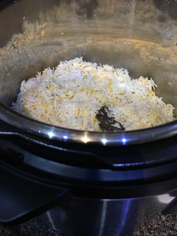 how to make instant pot coconut rice