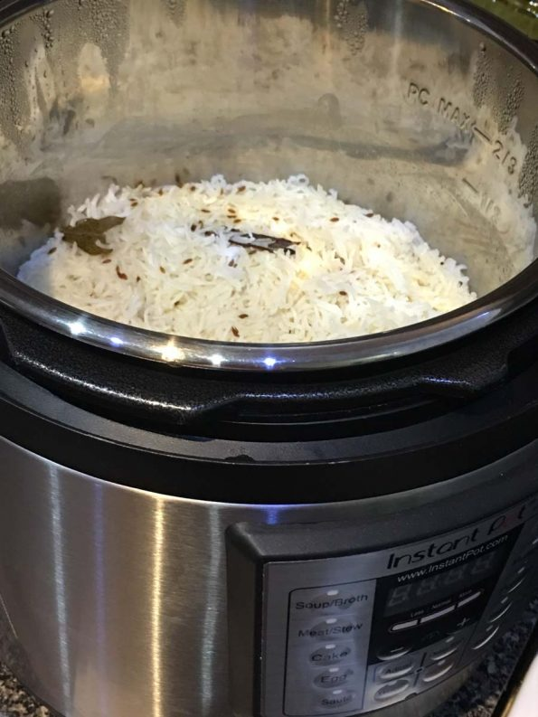 how to make instant pot jeera rice