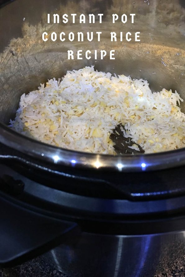 instant pot coconut rice recipe easy