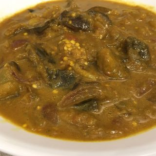 instant pot eggplant curry