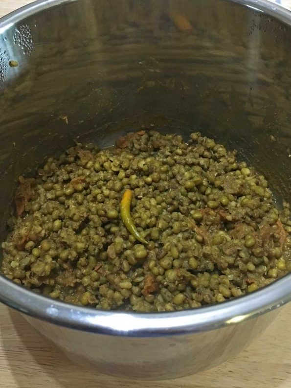 instant pot mung beans curry recipe