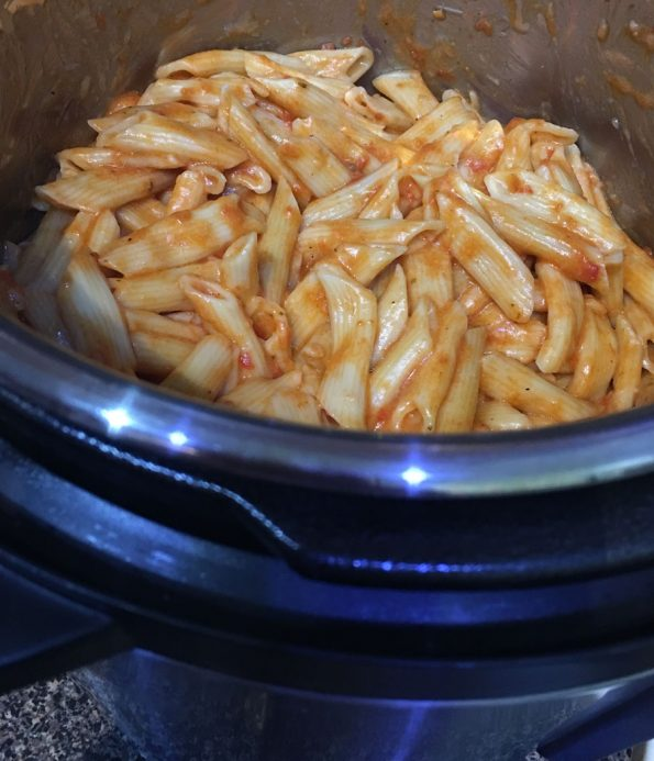 instant pot one pot pasta recipe easy