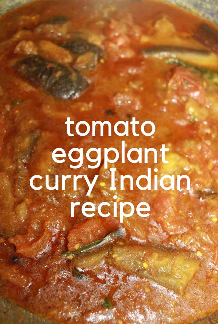 Brinjal Curry For Chapathi & Rice - Brinjal/Eggplant Curry ...  Brinjal Curry F...