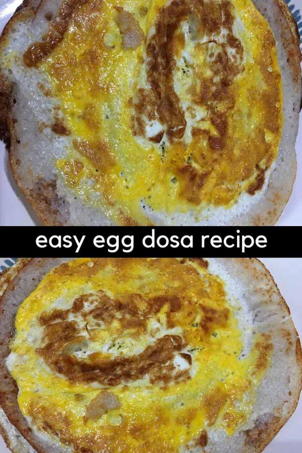 egg dosa recipe