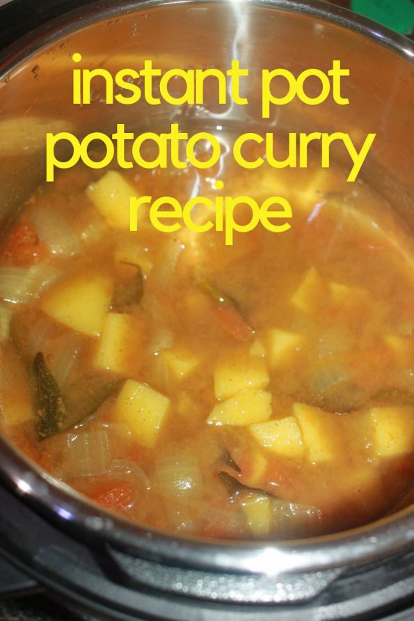 instant pot potato curry recipe