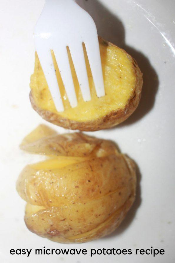 microwave potato recipe in 11 minutes