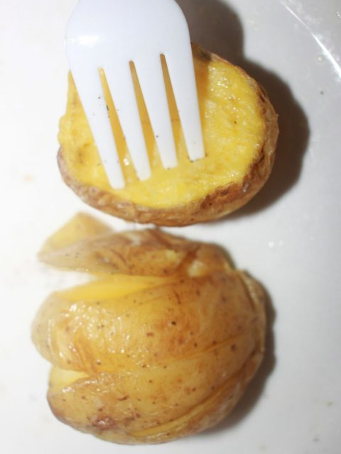 microwave potato recipe in 11 minutes of time