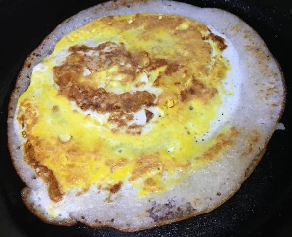 simple egg dosa recipe south indian style