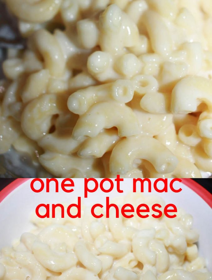 one pot mac and cheese recipe without eggs