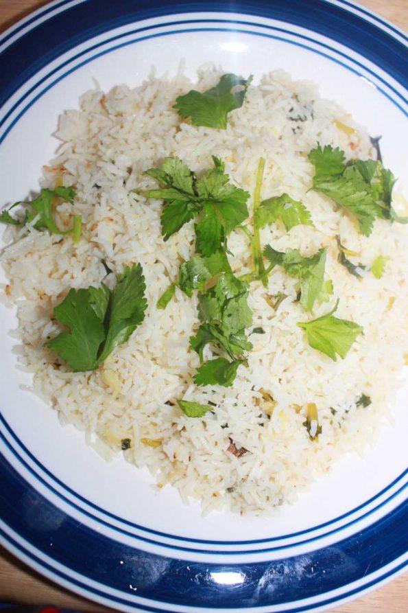 easy instant pot cilantro lime rice recipe