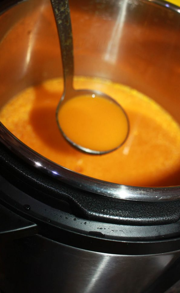 how to make instant pot carrot ginger soup