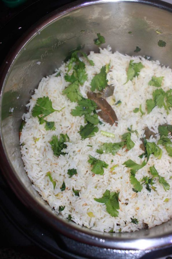 how to prepare instant pot cilantro lime rice