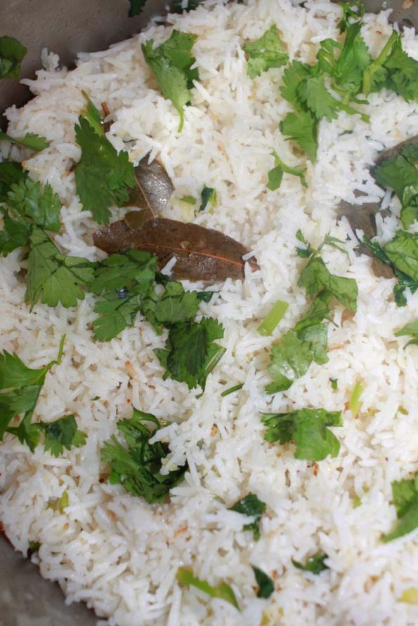 instant pot cilantro lime rice recipe