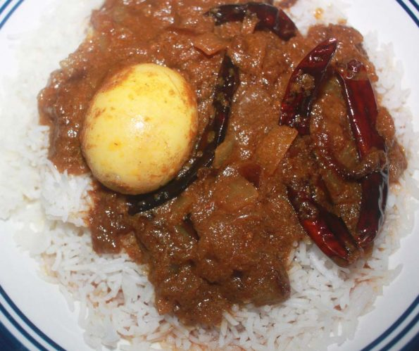 kerala style spicy egg curry recipe