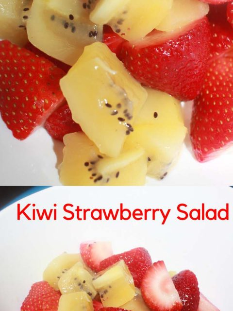 kiwi strawberry salad recipe