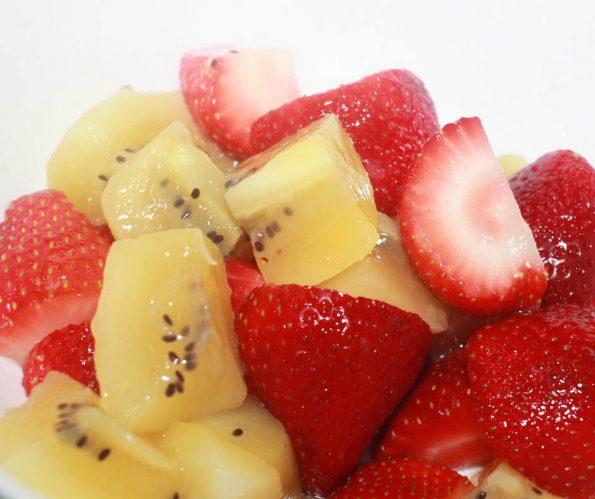 kiwi strawberry salad recipe without lemon poppy seed dressing