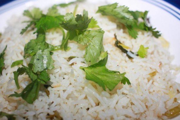 simple instant pot cilantro lime rice recipe vegetarian