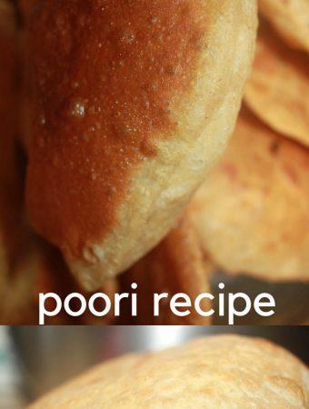soft poori recipe north indian