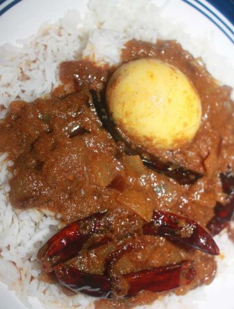 spicy egg curry recipe for rice