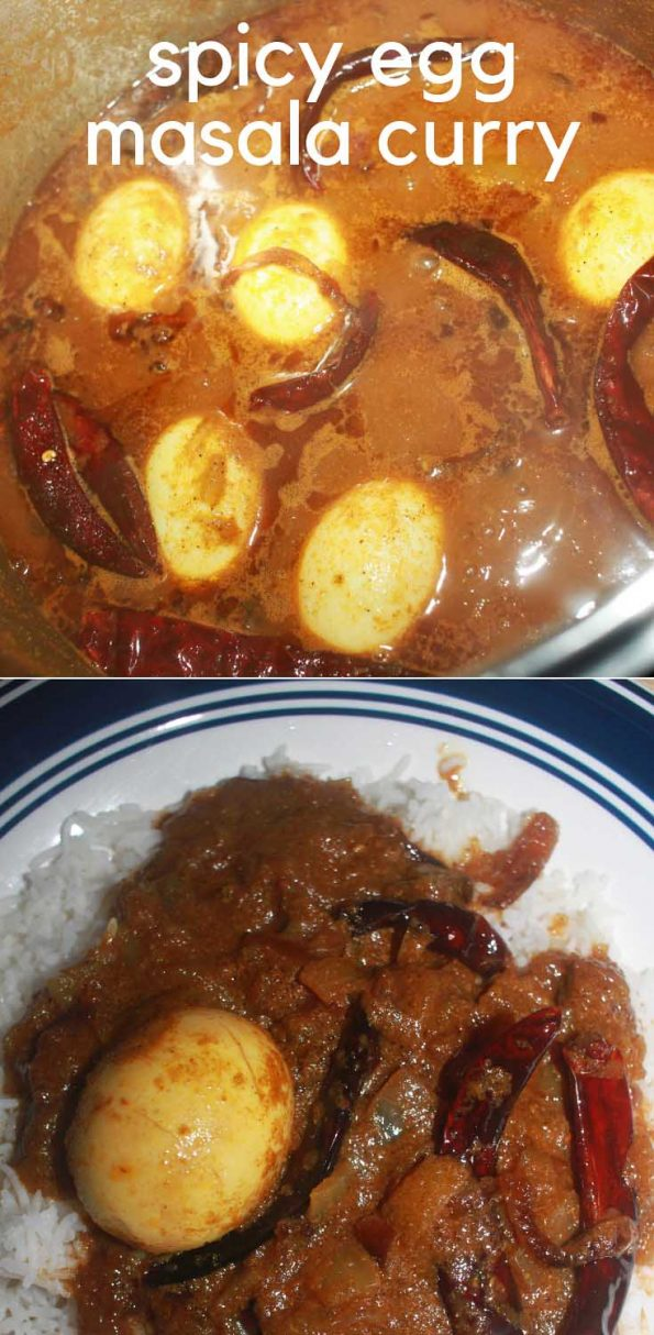 spicy egg curry recipe south Indian kerala style