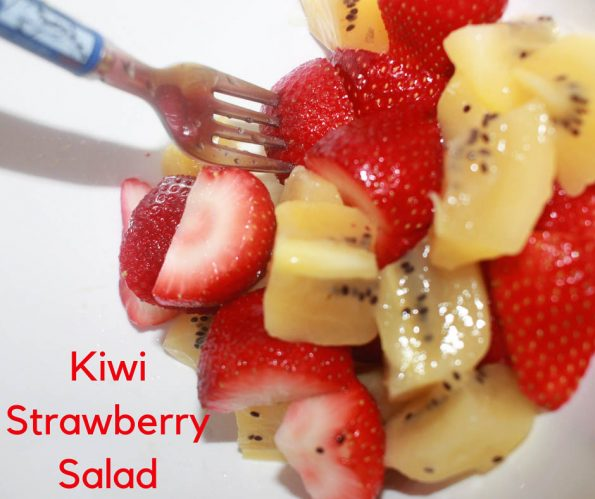 strawberry kiwi salad recipe