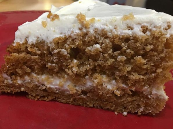 easy sweet potato cake with cream cheese frosting recipe