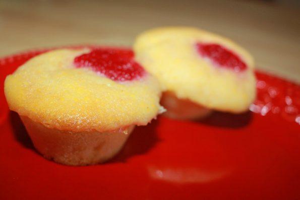 homemade mini cornbread muffins