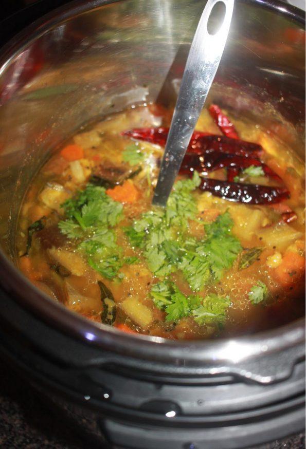 instant pot kerala sambar recipe