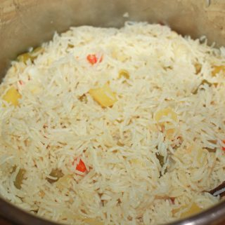instant pot pulao recipe using mixed vegetables