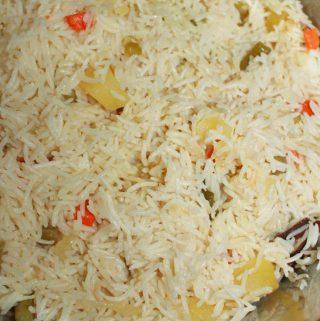 instant pot pulao recipe using veggies