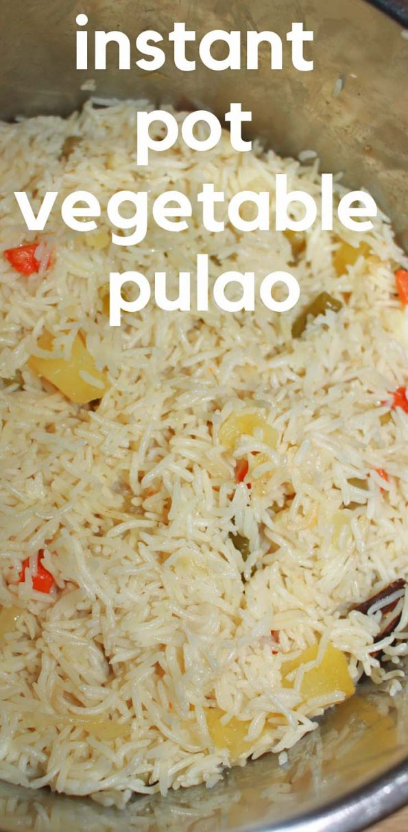 instant pot pulao recipe with vegetables