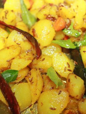 aloo gajar recipe without pressure cooker