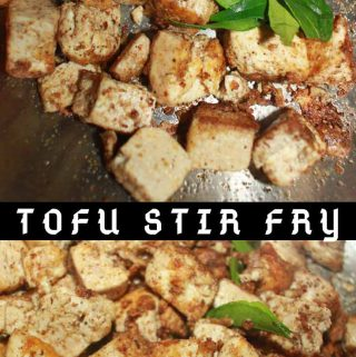 how to make tofu stir fry