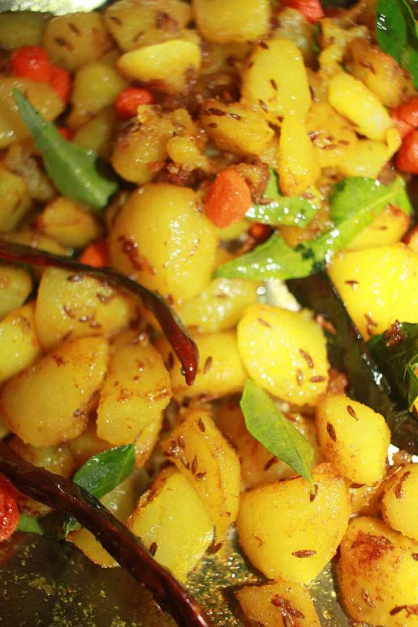 jeera aloo without boiling