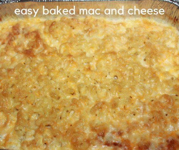 baked mac and cheese no egg recipe
