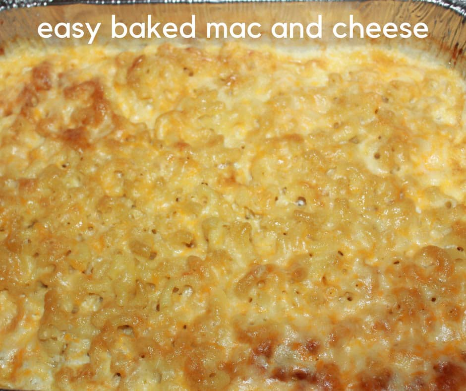 baked mac and cheese no egg recipe